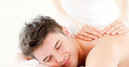 massage med varma stenar